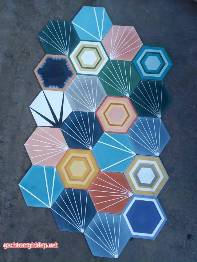 Ứng dụng gạch lục giác xi măng trong trang trí nội ngoại thất tuyệt mỹ