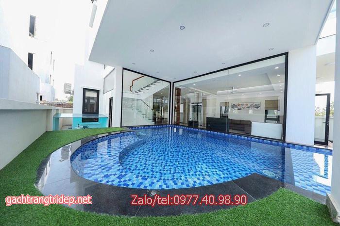 Lên ý tưởng thiết kế với gạch Mosaic hồ bơi trang trí giao hàng tận nơi