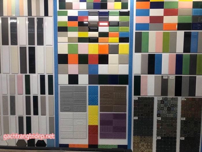 Chọn kích thước gạch thẻ ốp tường trang trí phù hợp với diện tích của không gian chất lượng