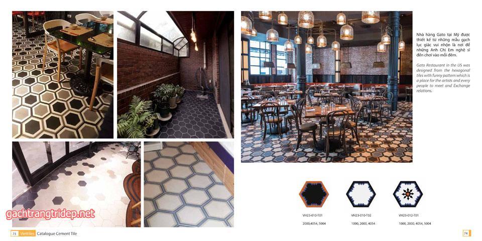 Ý tưởng thiết kế gạch bông xi măng cho nhà bạn uy tín