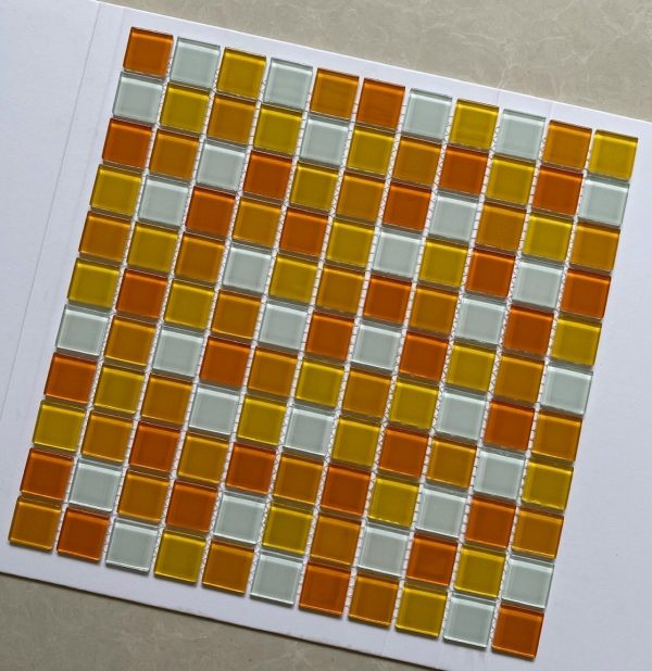 gach Mosaic trang vang cam