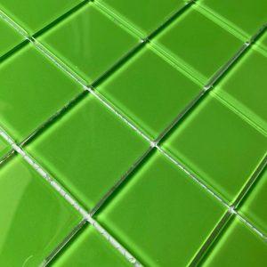 gach Mosaic xanh
