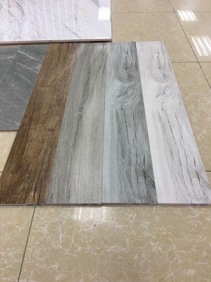 Gạch giả gỗ mang đến vẻ đẹp hiện đại quy trình chuyên nghiệp