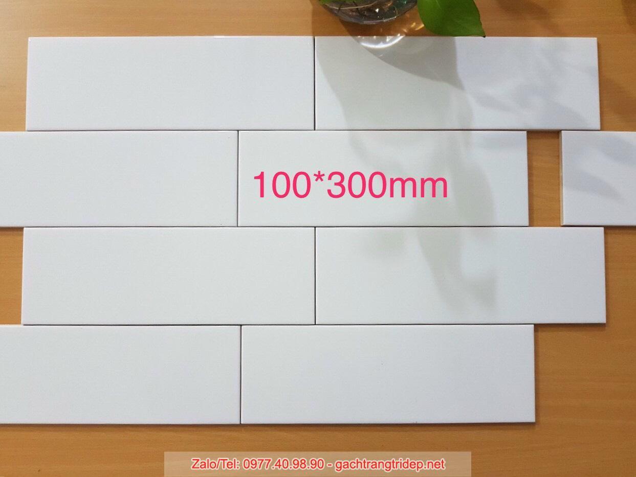 gach the trang 10x30cm