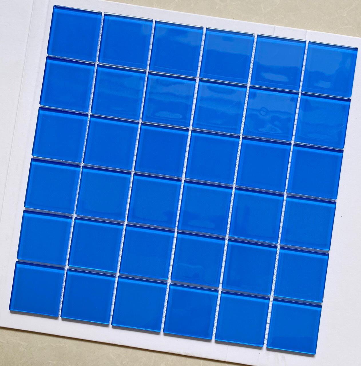 gach mosaic 30x30 blue