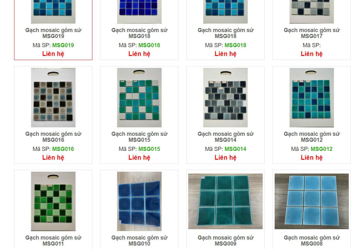 gach mosaic gom su